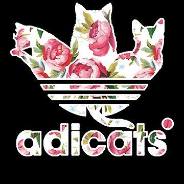 Adicats - Cat lovers T-shirt by drakouv