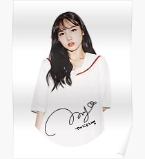 TWICE - Nayeon With Signature Poster