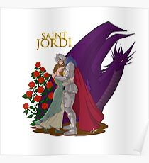 Saint Jordi Poster