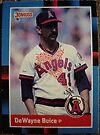343 - DeWayne Buice by Foob's Baseball Cards