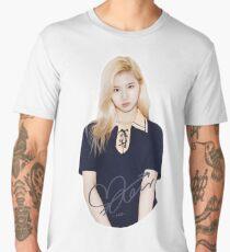 TWICE - Sana With Signature Men's Premium T-Shirt