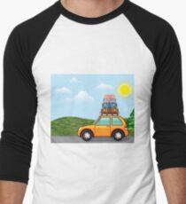 Hippy travel Men's Baseball ¾ T-Shirt