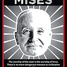 Ludwig von Mises with Quote by lewisliberman