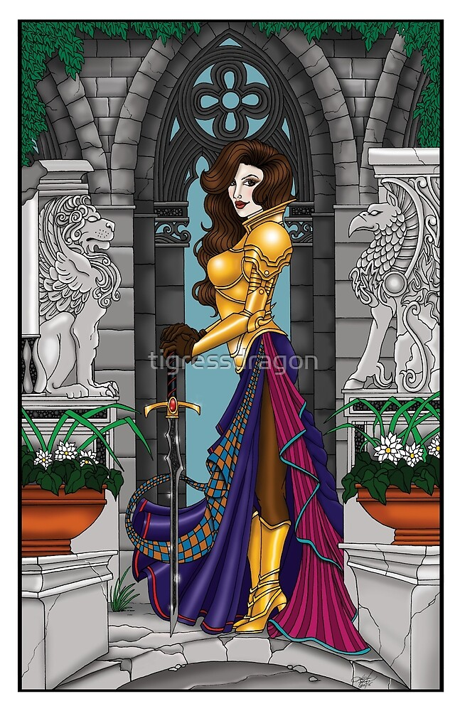 Warrior Woman by tigressdragon