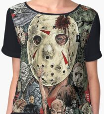 Friday the 13th - Jason Voorhees Women's Chiffon Top