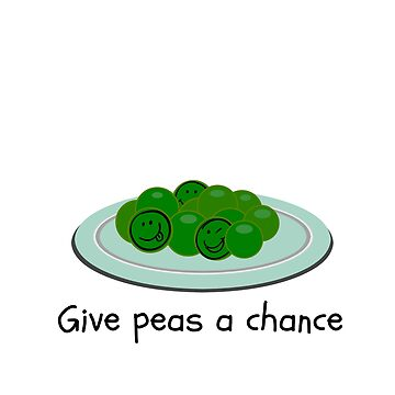Give Peas A Chance by TartyCat