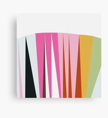 Color Spike Canvas Print