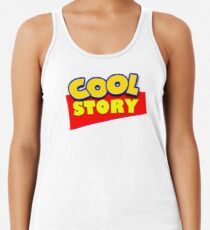 e83d76b7ef105 Cool Story bro Women s Tank Top