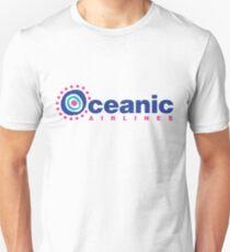 Ozeanische Fluglinien Slim Fit T-Shirt