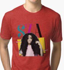 SZA - 90's Inspired Tri-blend T-Shirt