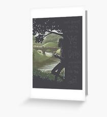 What Nobody Knew Was Greeting Card