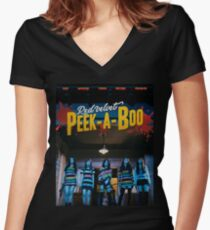 RED VELVET - Peek A Boo Poster Women's Fitted V-Neck T-Shirt