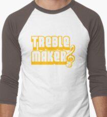Treblemaker Men's Baseball ¾ T-Shirt