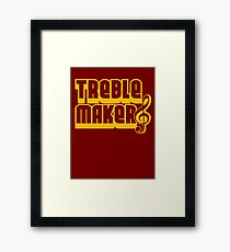Treblemaker Framed Print