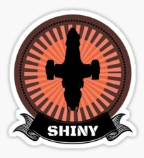 Firefly Serenity Shiny Browncoat Sticker