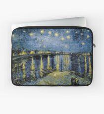 Vincent Van Gogh Sternennacht über der Rhône Laptoptasche