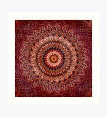 Lámina artística Mandala Gemstone Glory