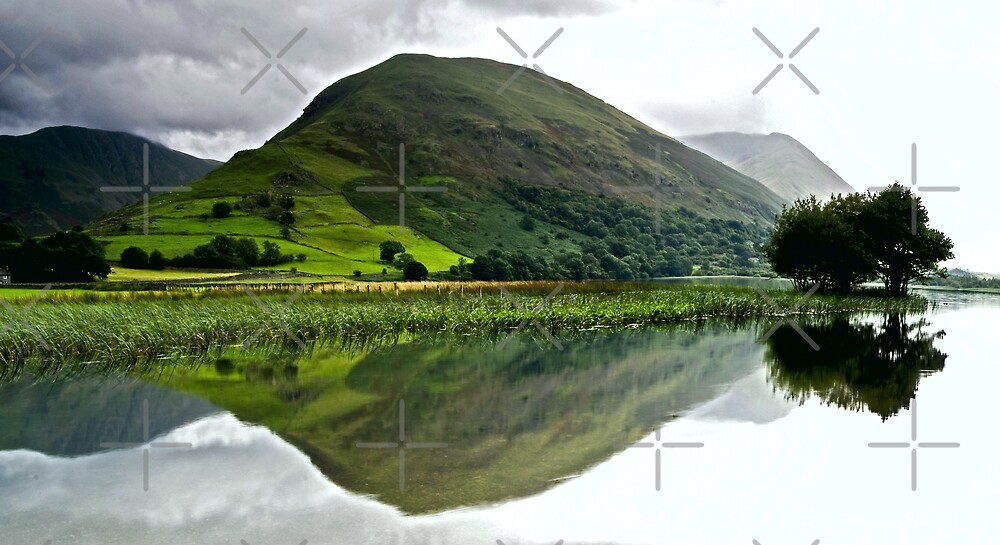 Brotherswater Reflection by AJ Airey