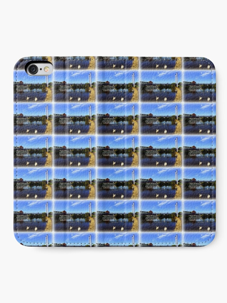 Alternative Ansicht von Exeter Quay iPhone Flip-Case
