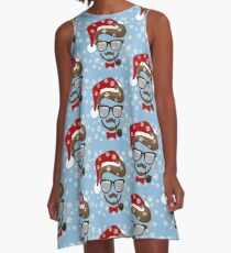 Hipster Holiday A-Line Dress