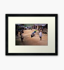 gaming  Framed Print