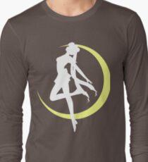 Sailor Moon logo clean Long Sleeve T-Shirt
