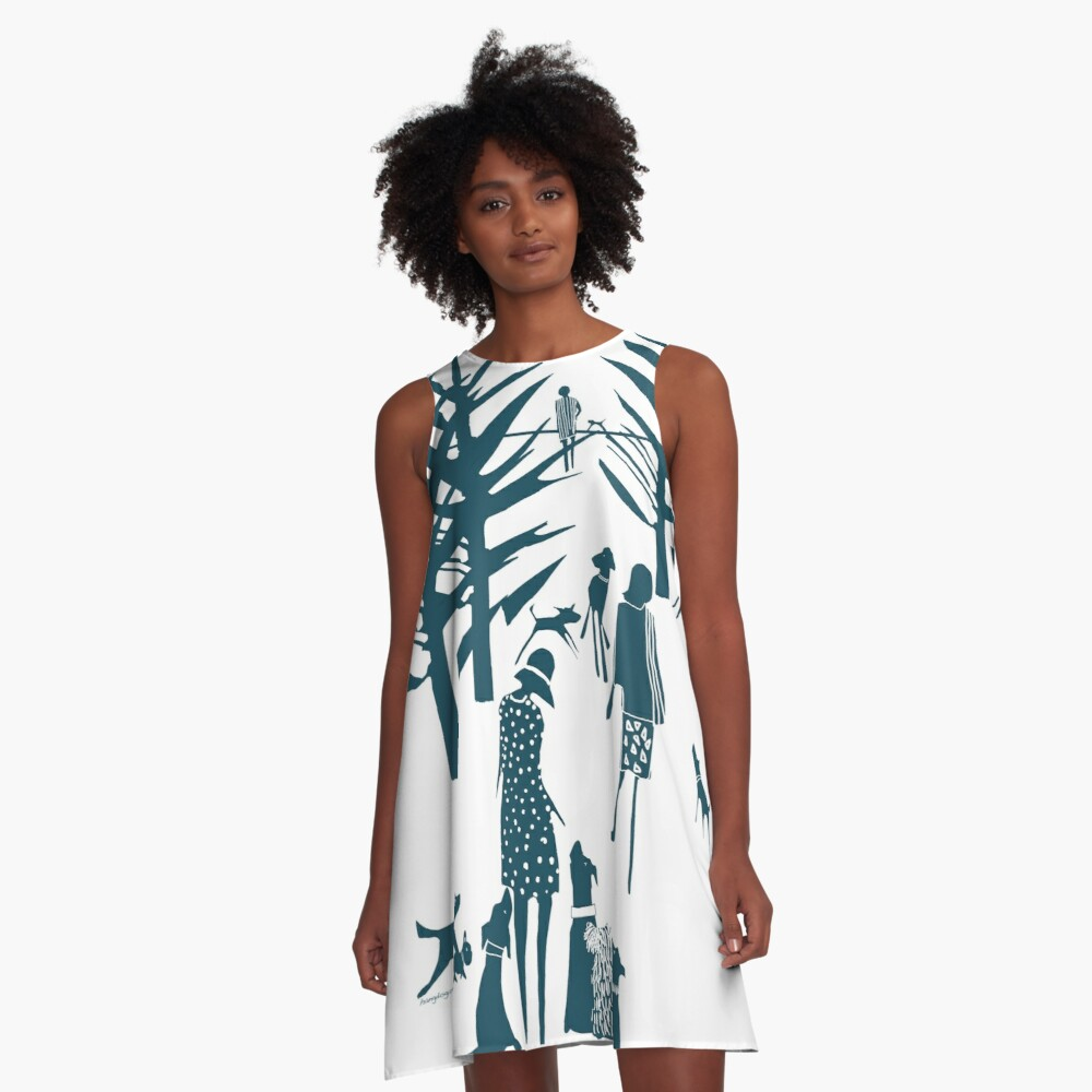What have you got? A-Line Dress Front