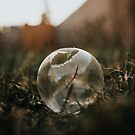 Frozen Bubble in the Grass by Rubyheart