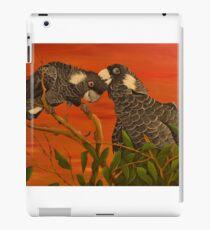 White Tailed Cockatoos iPad Case/Skin