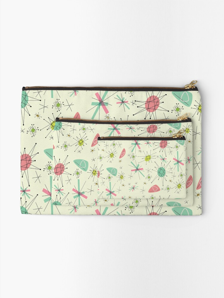 Alternate view of Atomic 50s Zipper Pouch