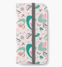 Atomic 50s Flamingo iPhone Wallet/Case/Skin