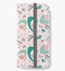 Vinilo o funda para iPhone Atomic 50s Flamingo