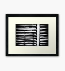 Angle of Venting I Framed Print