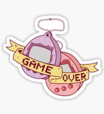tamagotchi game over Sticker