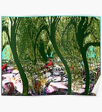 Floral Undergrowth Poster