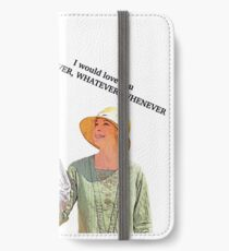 However, Whatever, Whenever iPhone Wallet/Case/Skin