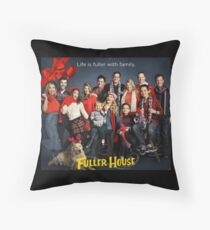 Fuller House - Christmas Throw Pillow