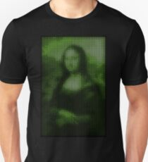 Painting By Numbers: Mona Lisa Unisex T-Shirt