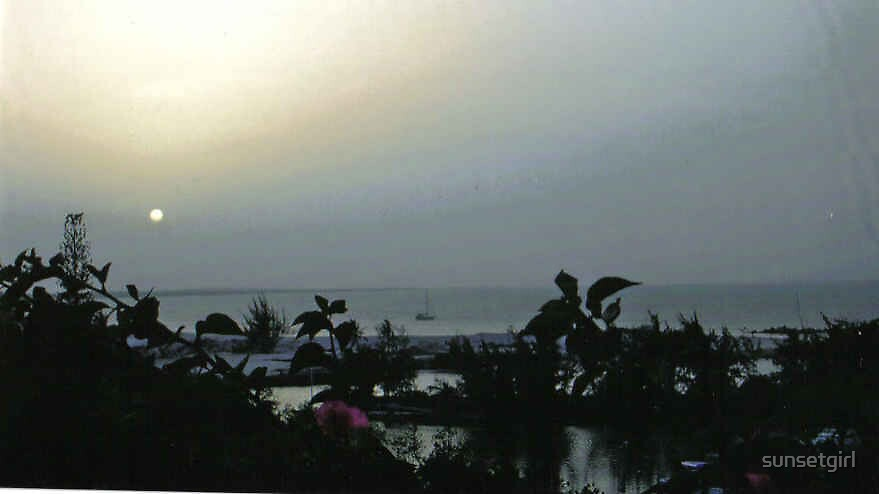 Calm Gray Sunset by sunsetgirl