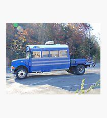 Camper Bus Photographic Print
