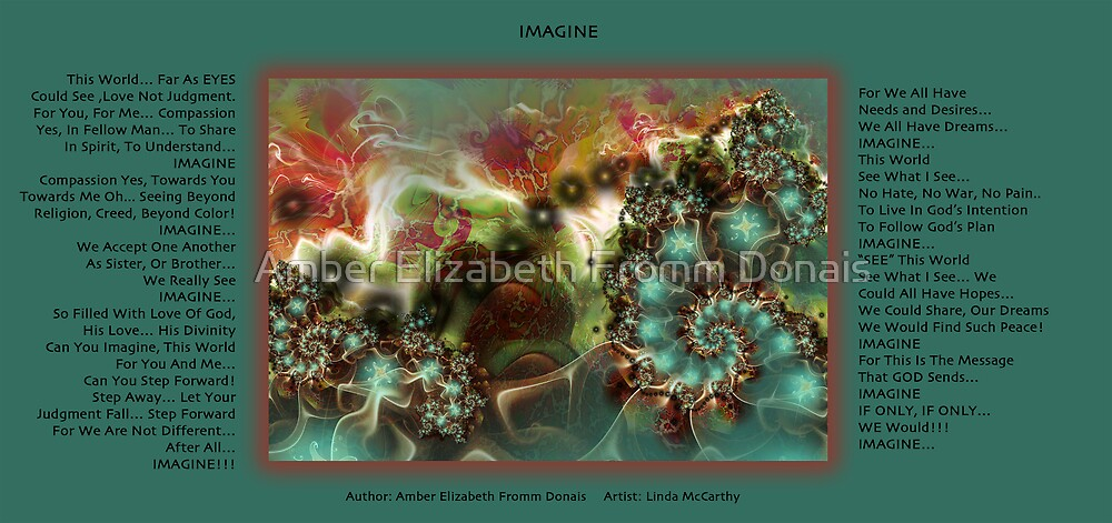 Imagine by Amber Elizabeth Fromm Donais