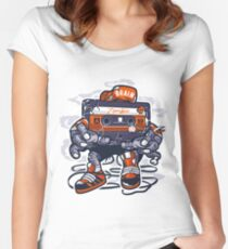 Zombie Cassette Women's Fitted Scoop T-Shirt