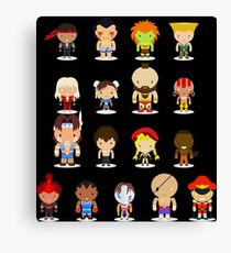 Ultra Street Fighter II - The Final Challengers Canvas Print