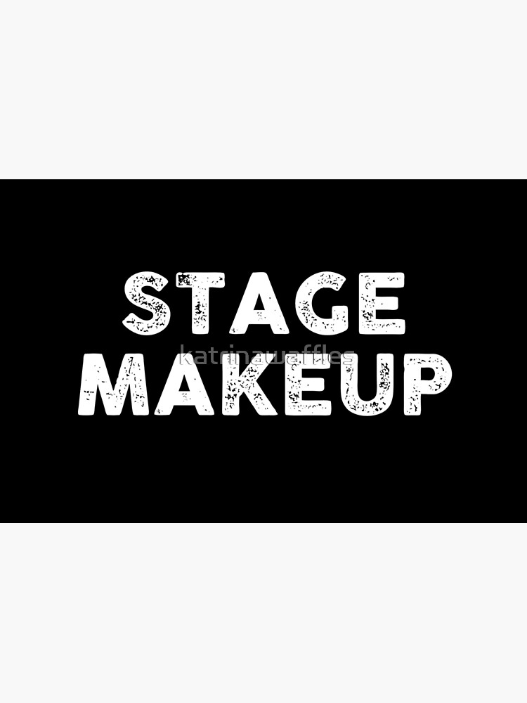stage makeup by katrinawaffles