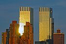 time warner towers at sunset by Erwin G. Kotzab
