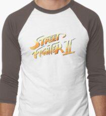 Street Fighter 2 faded Men's Baseball ¾ T-Shirt