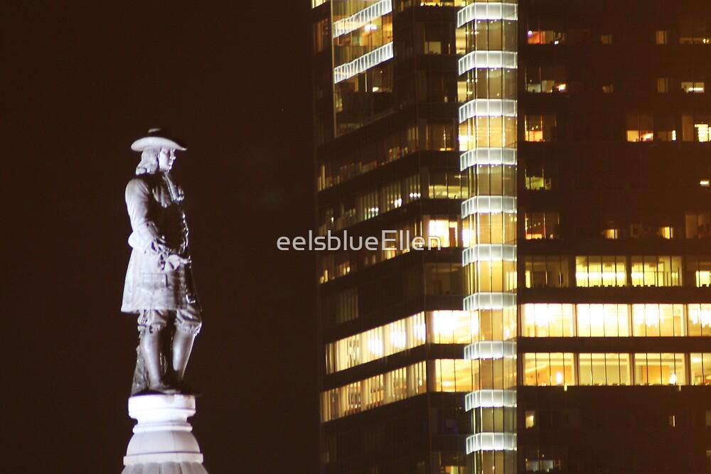 William Penn from 33rd Floor by eelsblueEllen