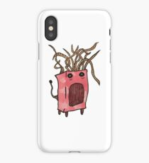 Red Monster iPhone Case