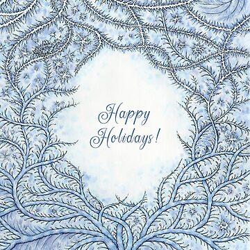 Happy Frosty Holidays! by OzureFlame