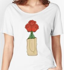 Alcoholic Roses Women's Relaxed Fit T-Shirt